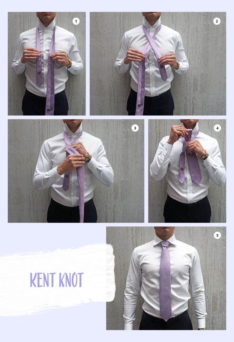 Here's how to put on a tie – step by step instructions!-252