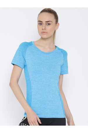 Mizuno T-shirts - Blue Tubular Helix T-shirt