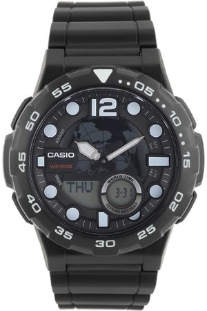 Casio Youth Combination Men Black Analogue and Digital watch AD204 AEQ-100W-1AVDF
