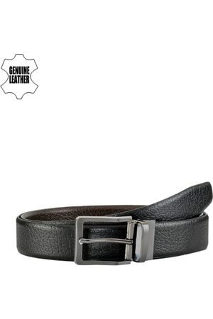 TKWD Leathers Men & Brown Reversible Leather Belt