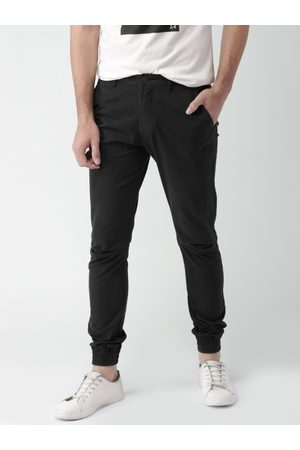 Mast & Harbour Men Solid Chino Joggers