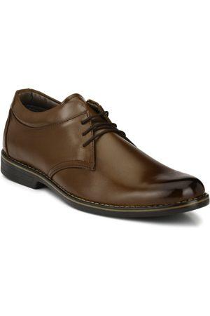 Azzaro Men Brown Formal Shoes
