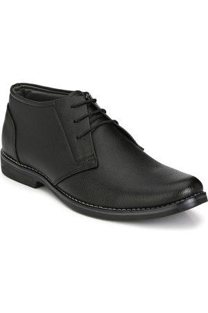 Azzaro Men Black Semiformal Shoes