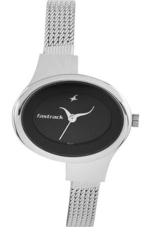 Fastrack Women Black Dial Watch NC6015SM02