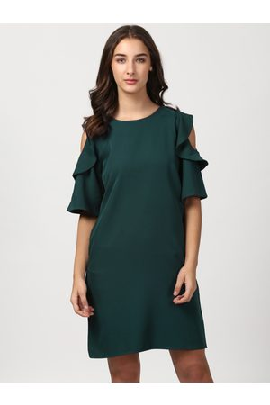Harpa Women Solid A-Line Dress