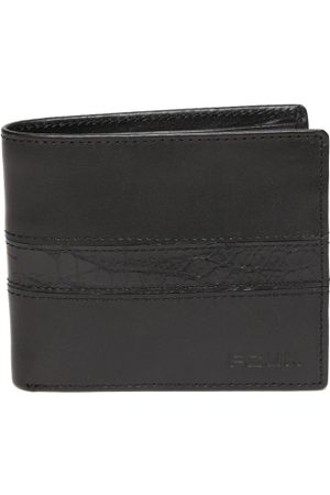 French Connection Men Wallets - Men Black Solid Two Fold Wallet