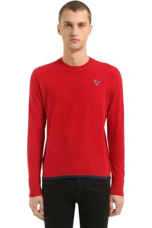 Coach T-rex Patch Wool & Cashmere Knit Sweater