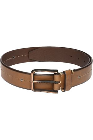 Ralph Lauren Men Tan Brown Leather Belt