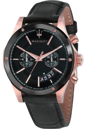 Maserati Men Black Analogue Watch