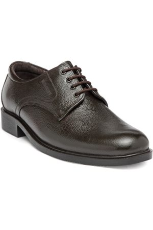 Red Chief Men Coffee Brown Leather Formal Derbys