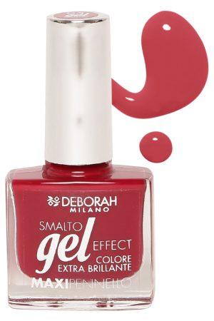 Deborah Milano Smalto Gel Maxipennello Red Kimono Nail Polish 95