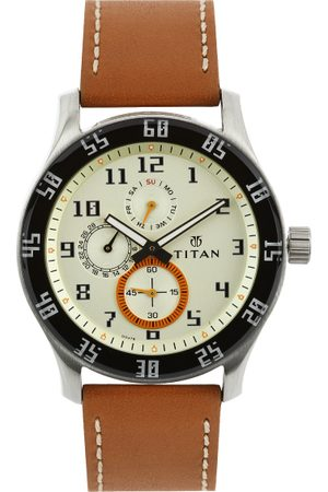 Titan Men -Toned Dial Chronograph Watch 1632SL02