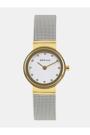 Bering Women Silver-Toned Classic Sapphire Crystal Analogue Watch 10122-001