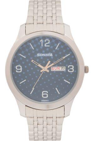 Sonata Men Analogue Watch 77063SM06