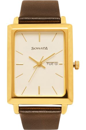 Sonata Men Analogue Watch NK7078YL03