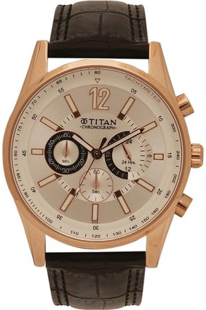 Titan Men Analogue Chronograph Watch NK9322WL01