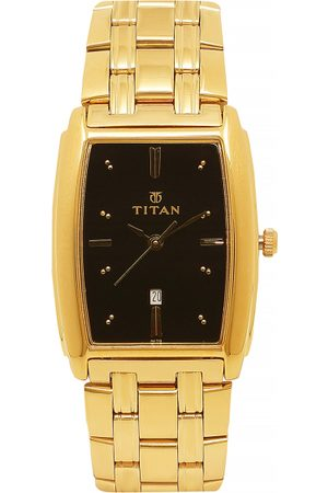 Titan Royal Men Black Analogue watch NL1163YM03