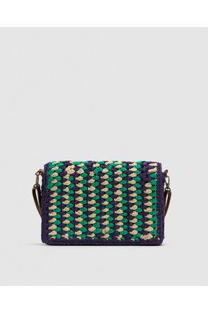 Zara Women Shoulder Bags - CROCHET CROSSBODY BAG