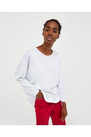 Zara OVERSIZED WASHED T-SHIRT