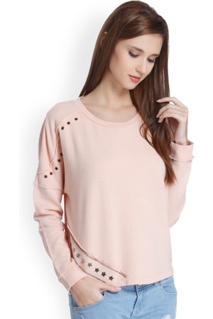 A.S. 98 Women -Coloured Solid Sweatshirt
