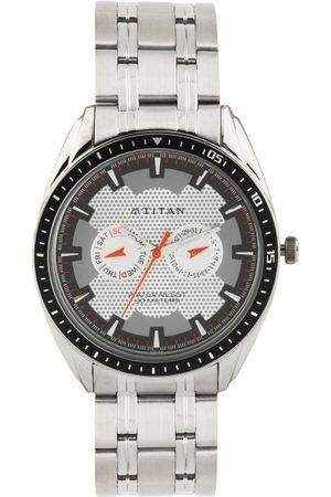 Titan Men -Toned & Grey Dial Watch NE1582KM01
