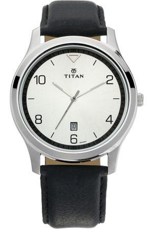 Titan Workwear Men Silver Analogue watch NL1770SL01