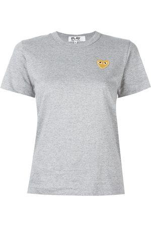 Comme des Garçons Women Short Sleeve - Heart logo T-shirt