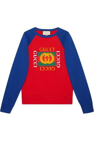 Gucci Men Sweatshirts - Red