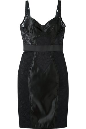 Dolce & Gabbana Lace panel bustier dress