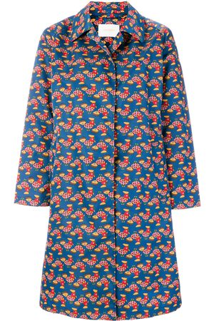 La DoubleJ Chicken print coat