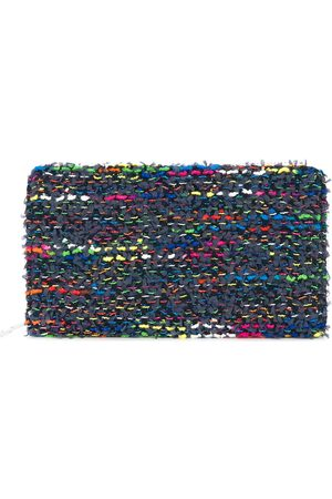 Coohem Knit tweed large wallet
