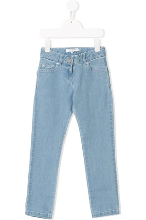 Givenchy Girls Skinny - Star patches skinny jeans