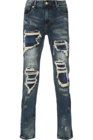 God's Masterful Children Distressed skinny jeans