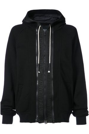 MOSTLY HEARD RARELY SEEN Zip front hoodie