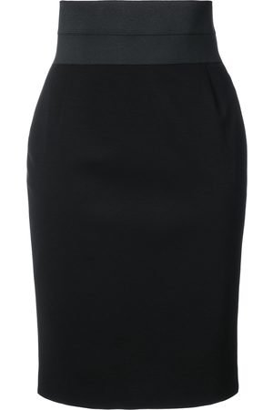 AKRIS Fitted high-waist pencil skirt