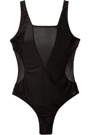 Brigitte Sheer panels swimsuit