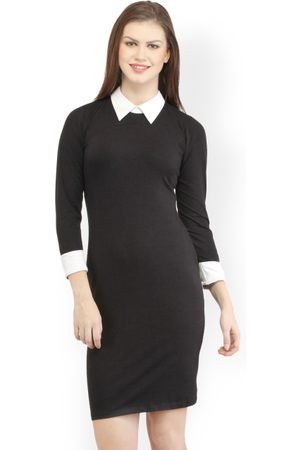 Cation & White Formal Bodycon Dress