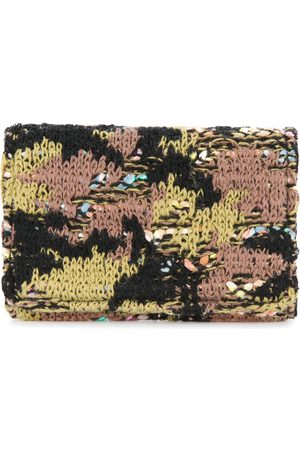 Coohem Wallets - Knit tweed camouflage card-case