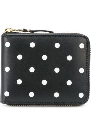 Comme des Garçons Wallets - Polka dot printed wallet