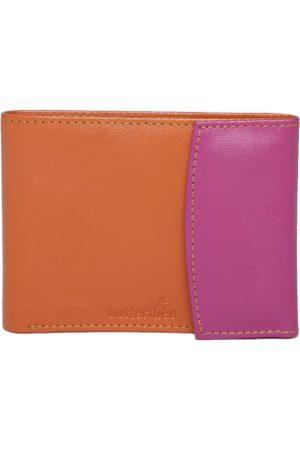 Butterflies Women Orange & Pink Colourblocked Wallet
