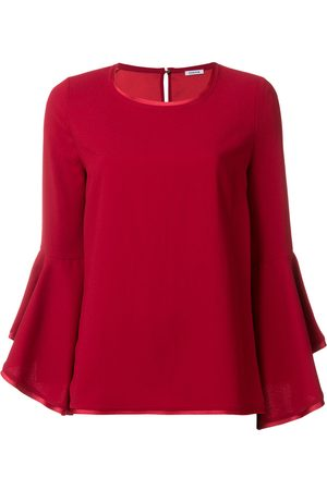 P.a.r.o.s.h. Fluted sleeve top