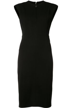 AKRIS Zipped neck dress