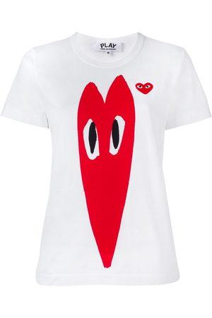 Comme des Garçons Women Short Sleeve - Stretch logo print T-shirt