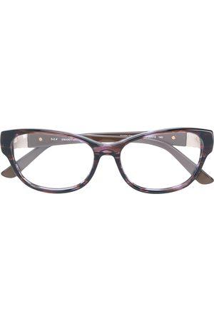 Swarovski Cat-eye frame glasses