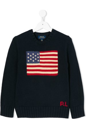 Ralph Lauren USA flag sweater