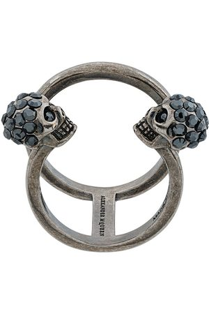 Alexander McQueen Skull cuff ring