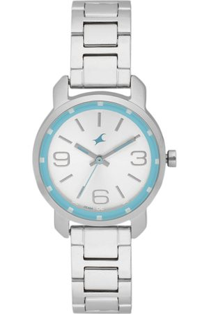 Fastrack Women Silver-Toned Analogue Watch NK6111SM01_OR