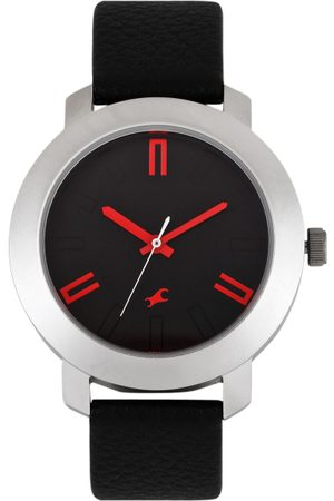 Fastrack Men Charcoal Grey Dial Watch 3120SL02