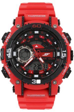 Sonata Men Red Digital Chronograph Watch 77070PP02J