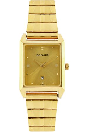 Sonata Men -Toned Dial Watch NF7007YM02A